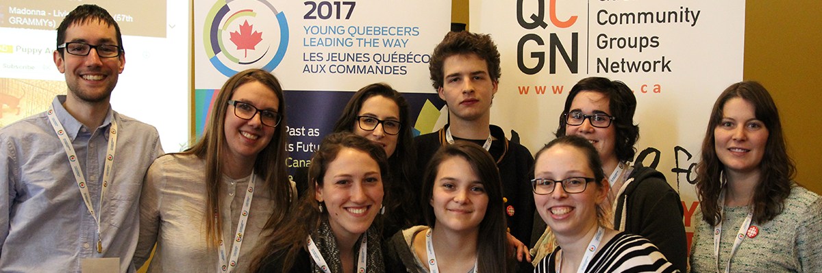 Young Quebecers Leading the Way Award